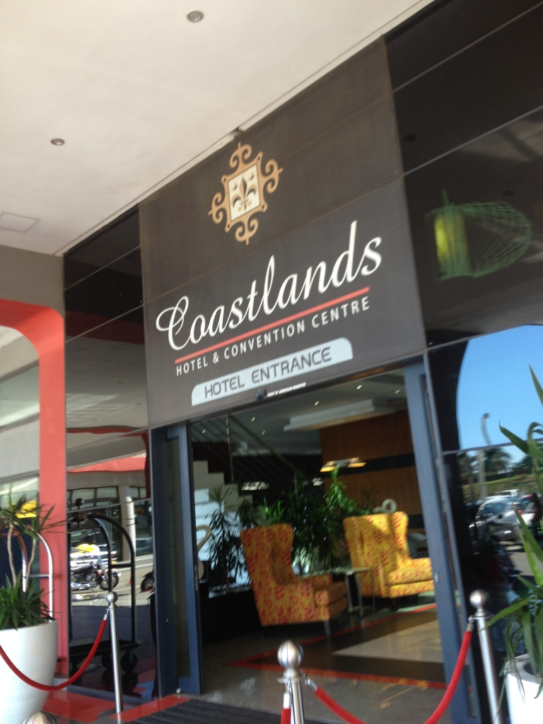 Entrance - Coastlands